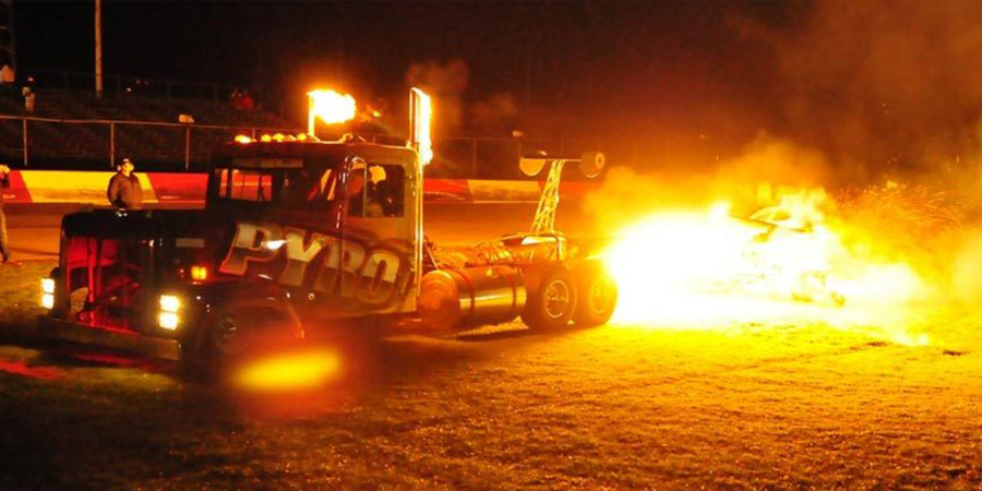 Pyro Jet Truck
