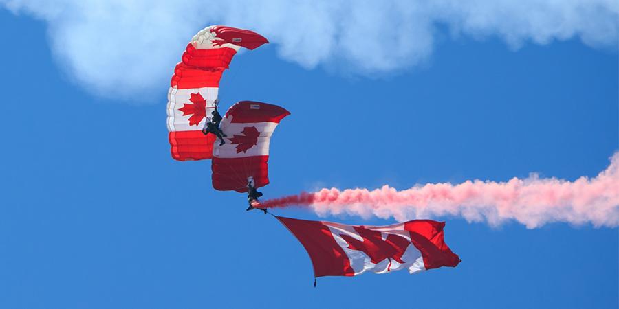 Skyhawks Military Parachute Team