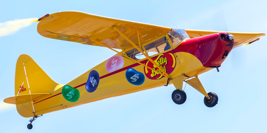 Kent Pietsch and the Jelly Belly Airplane