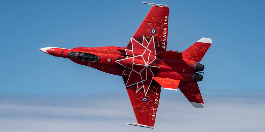 CF-18 Fighter Demo