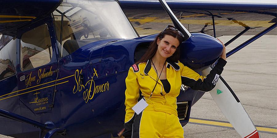 Sky Dancer, Anna Serbinenko